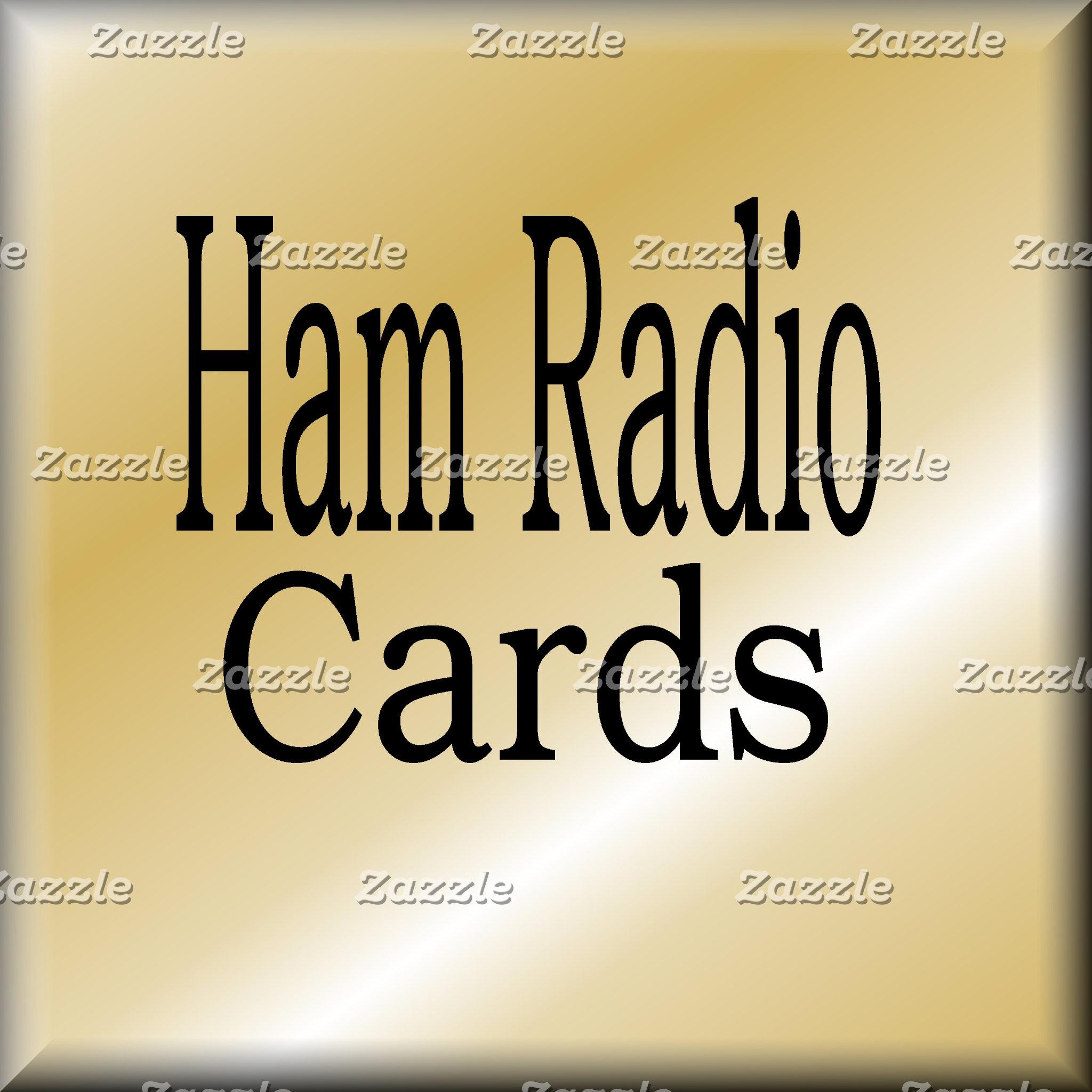 HAM RADIO CARDS