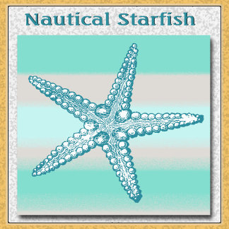 Sea Life Starfish Nautical
