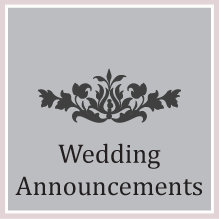 4. Wedding Announcements