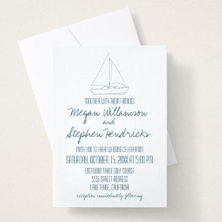 Wedding Sailboat