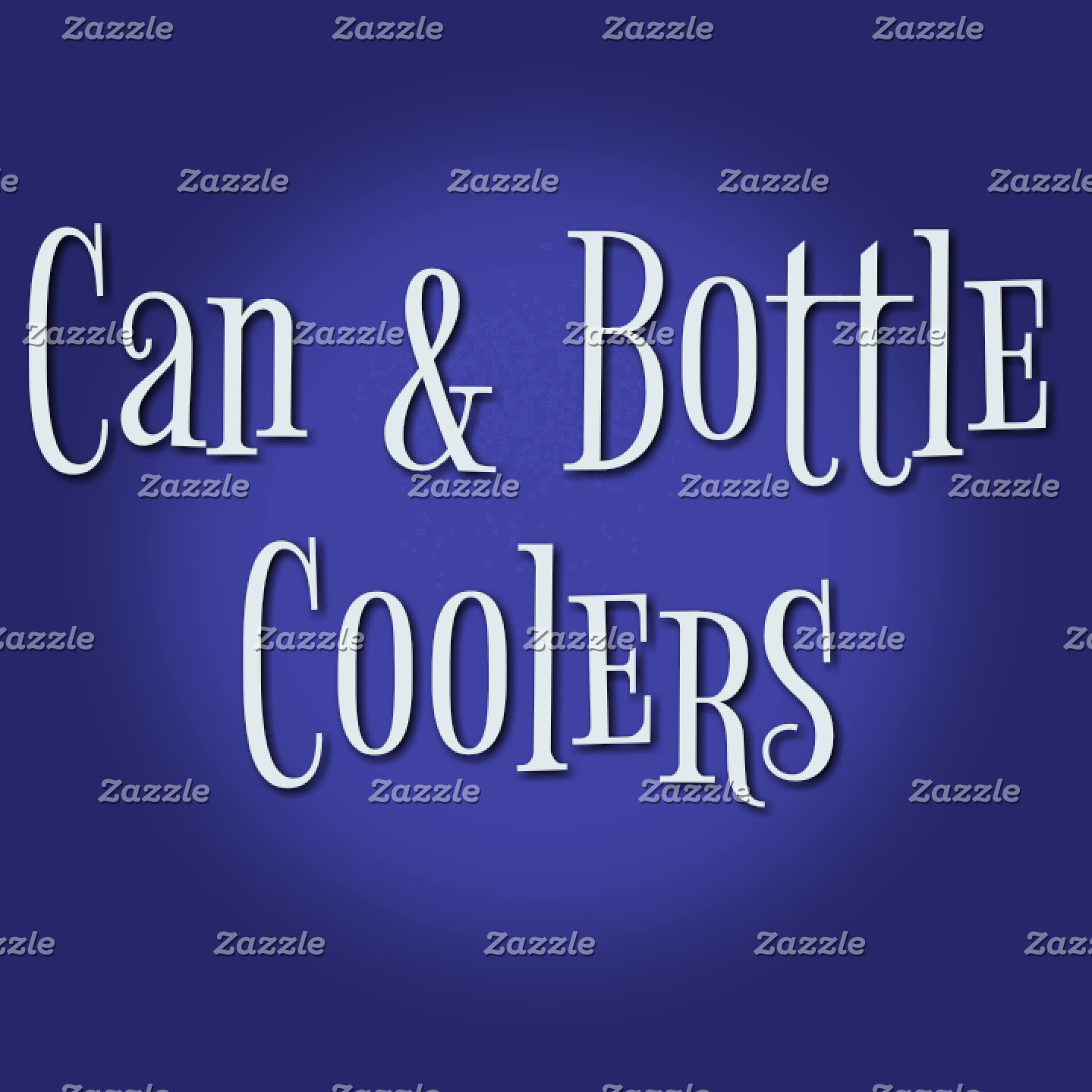Can and Glass Bottle Coolers