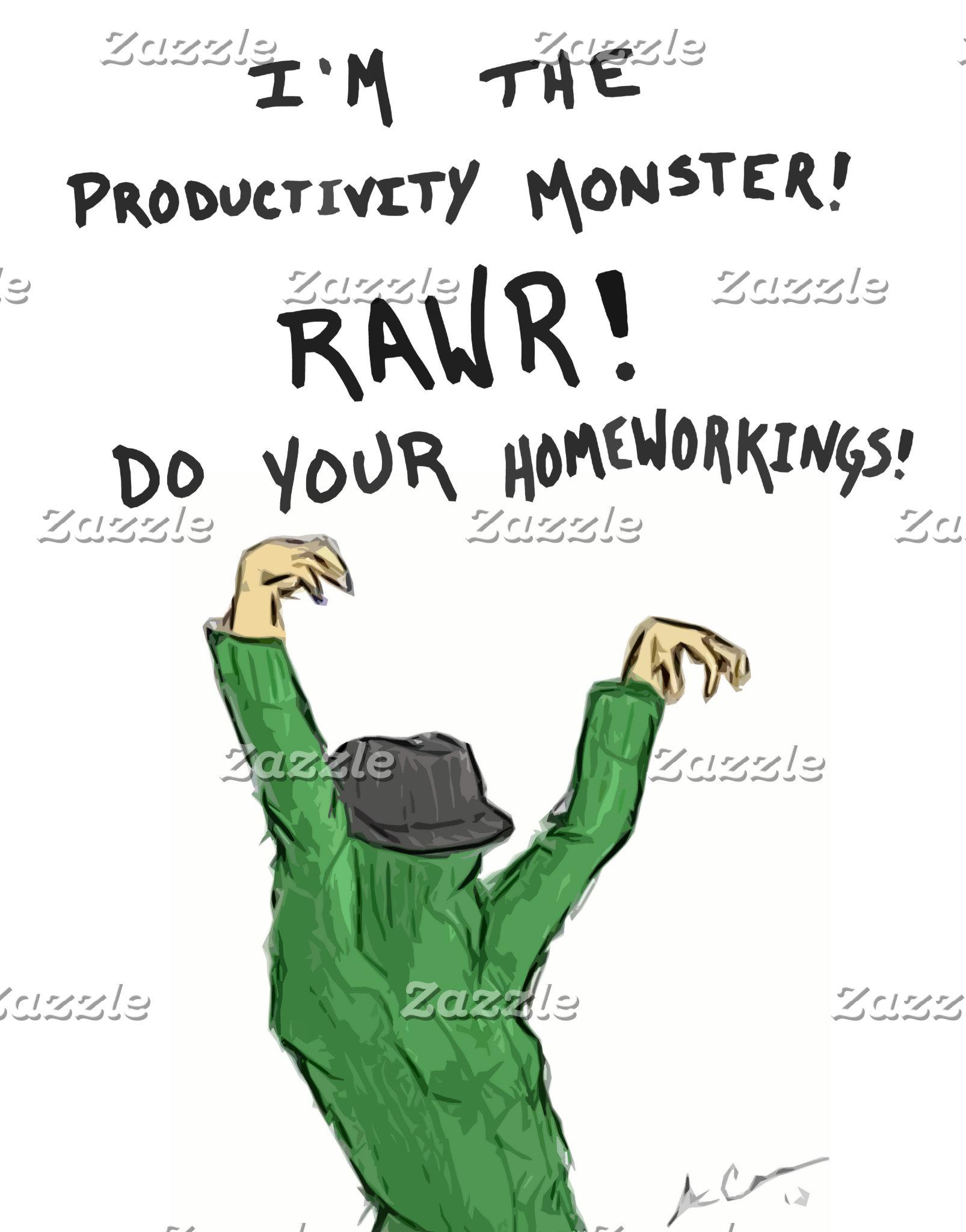 Productivity Monster