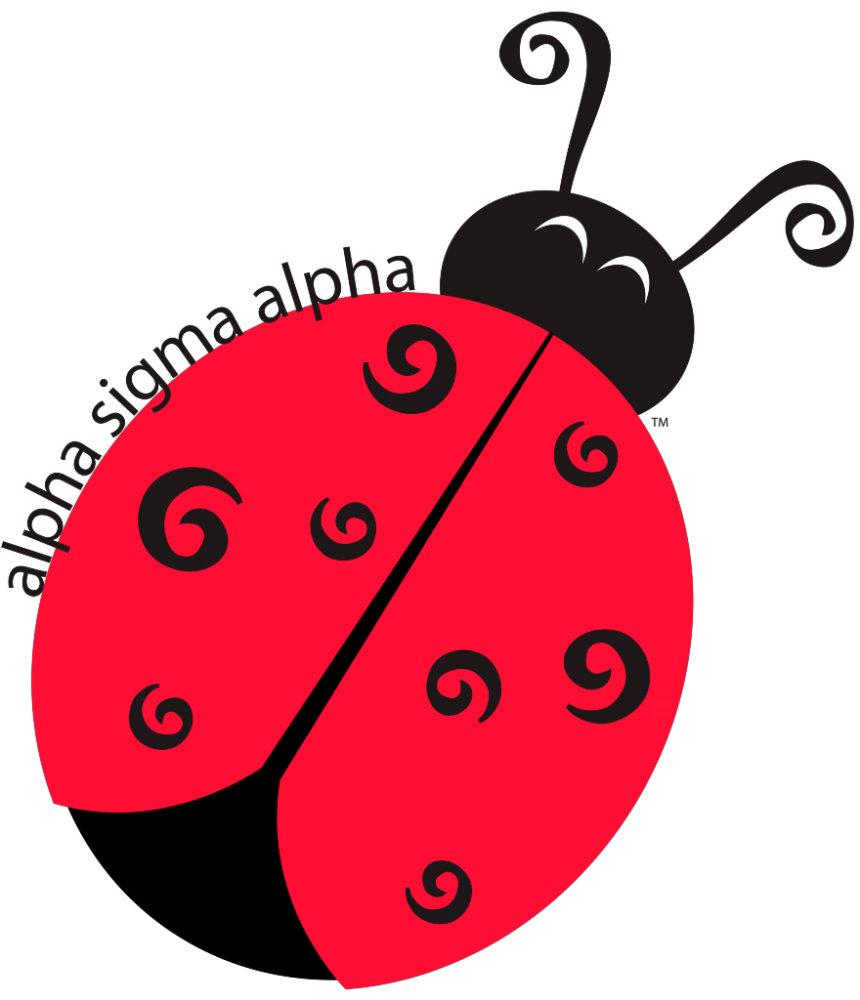 Alpha Sigma Alpha Ladybug