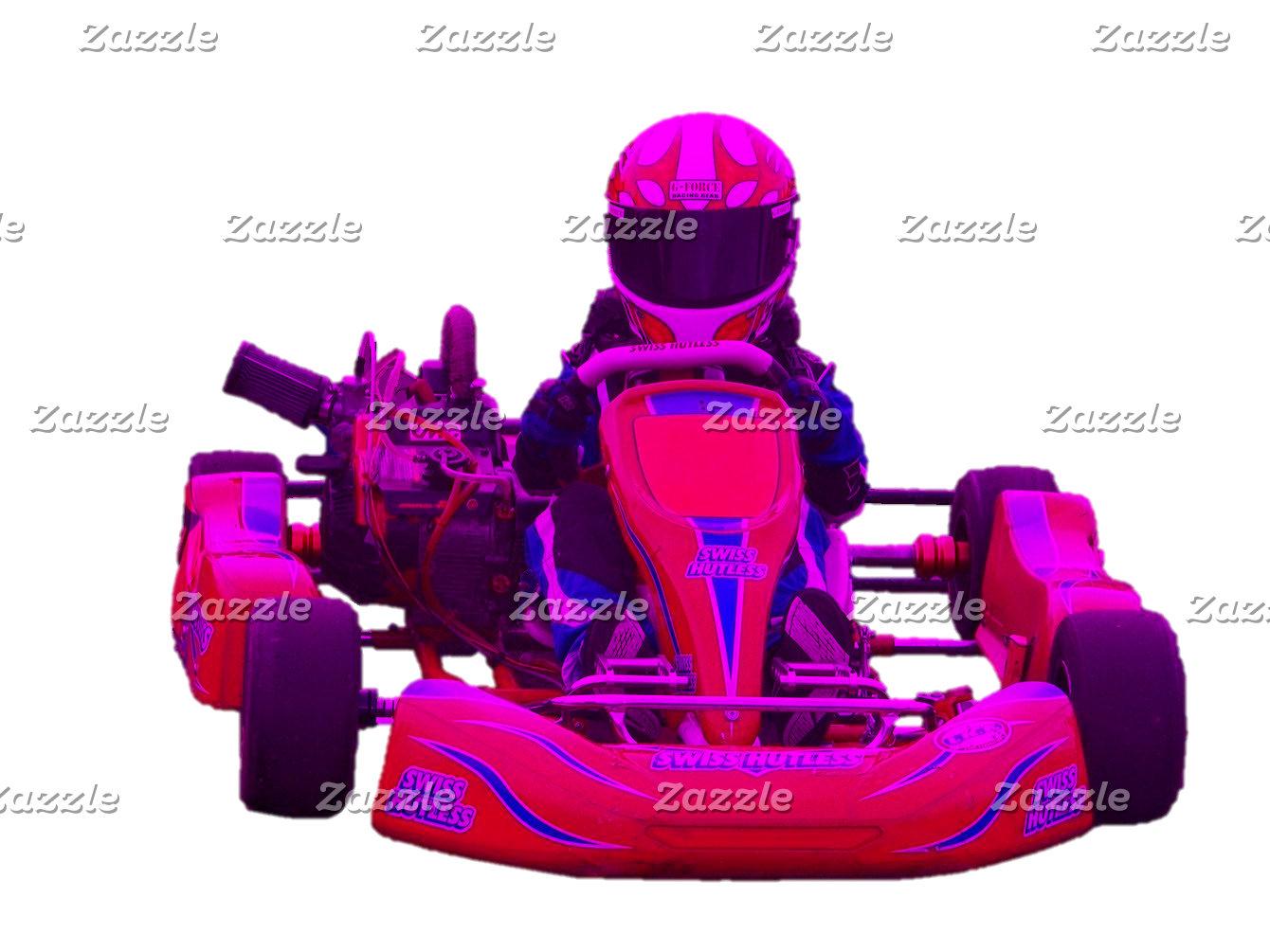 Kart Racer in Magenta