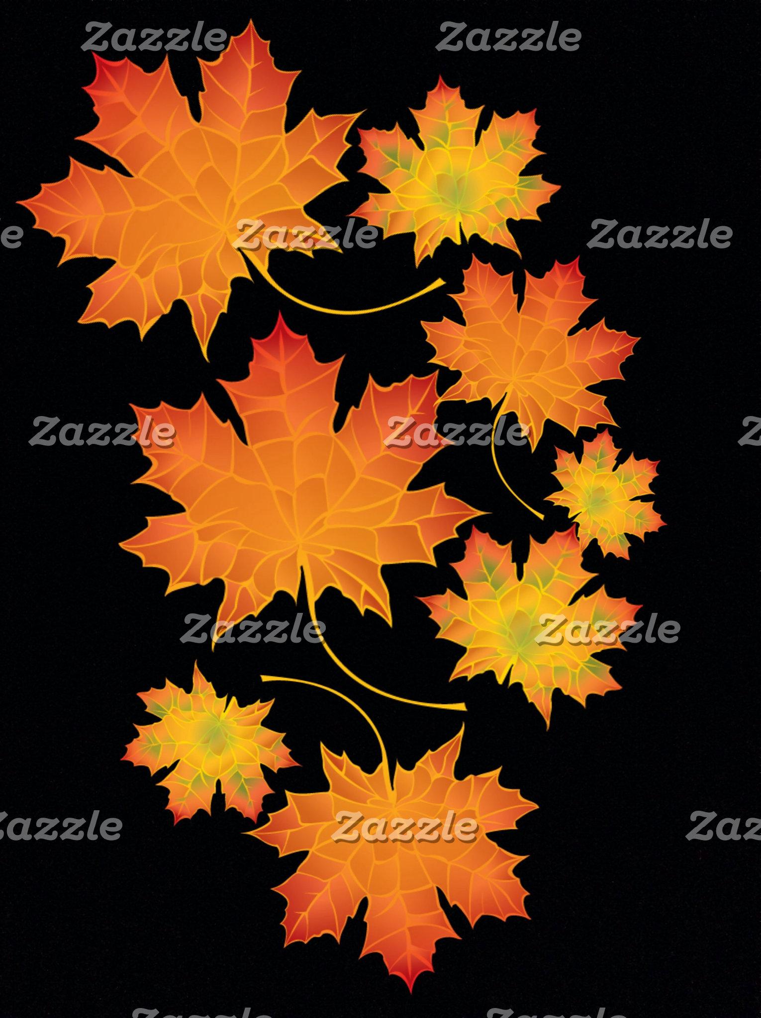 Herbst und Natur Farben