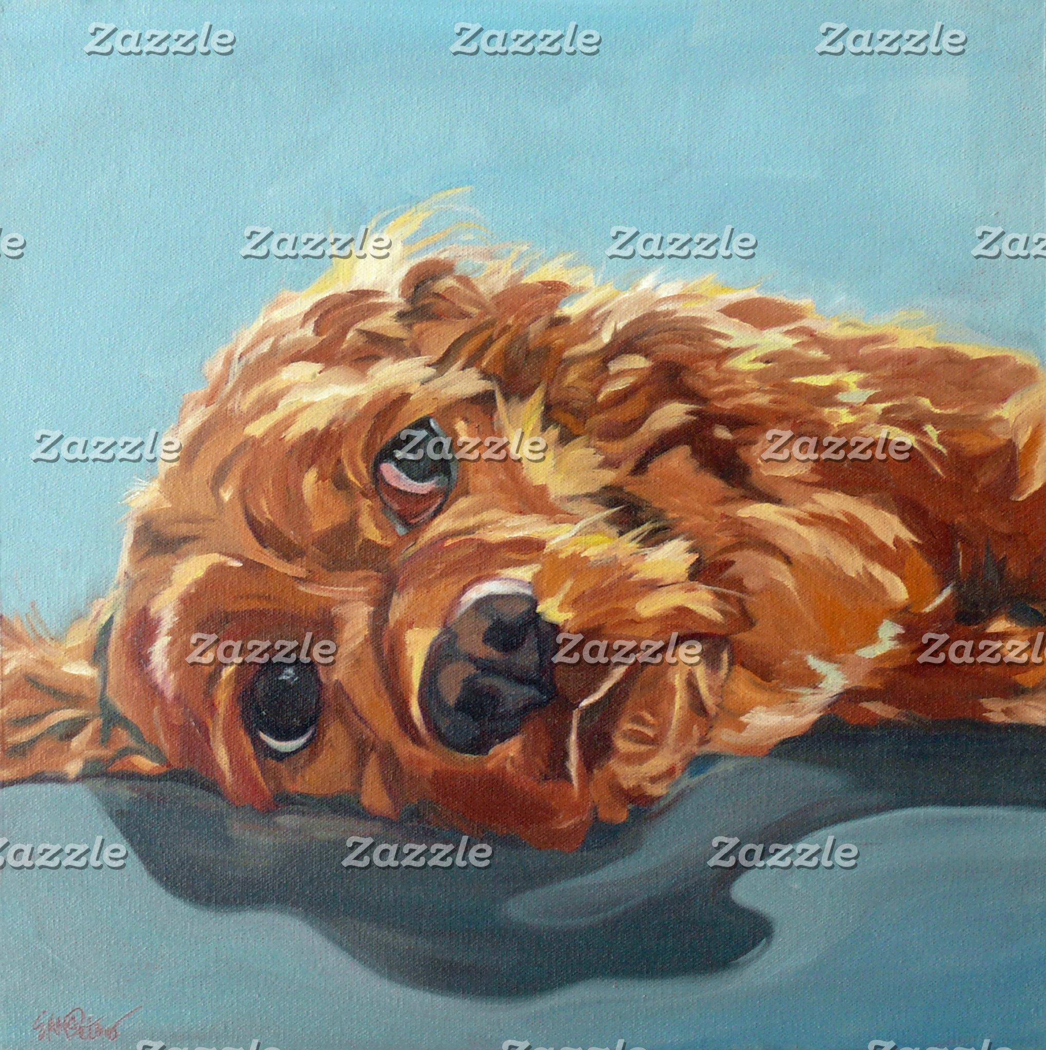 Cocker Spaniel Dog Art