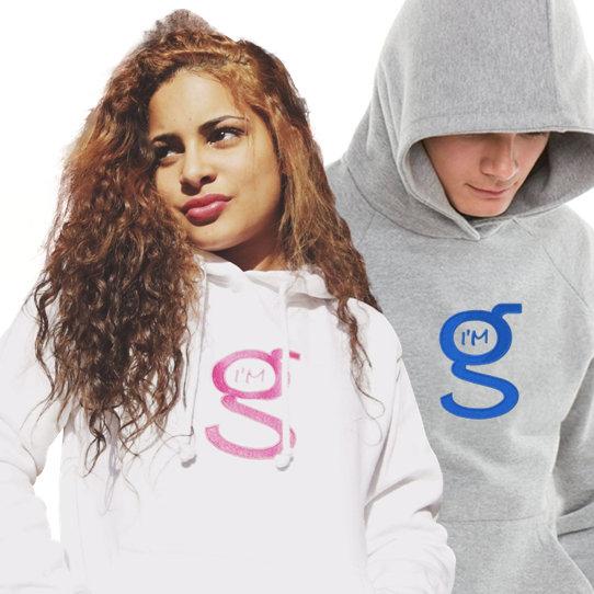I'm G HOODIES w Large Logo
