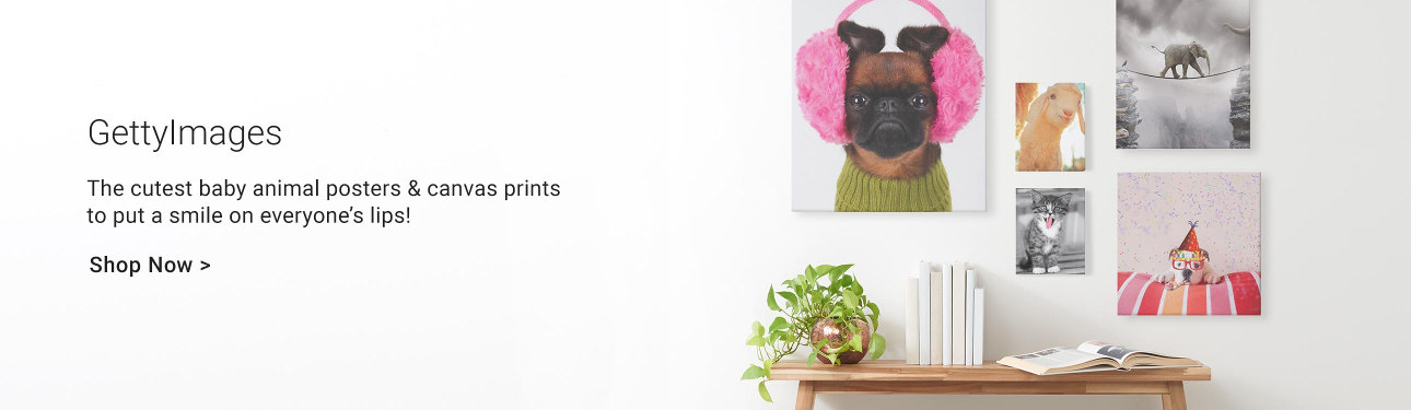GettyImages - Baby Animals posters and canvas prints