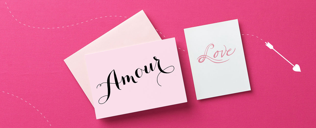 LOVE + AMOUR = LOVAMOUR