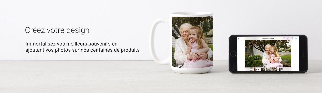 Tasses & Mugs personnalisées