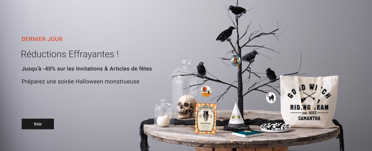 Jusqu'à -40% sur les articles de fêtes sur Zazzle.fr