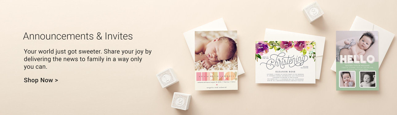 Personalised baby gifts baby products zazzle baby announcements and invites negle Image collections