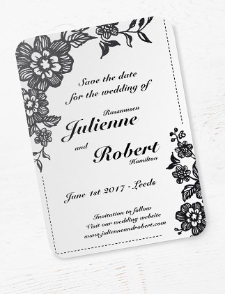 Rustic wedding invitations to make your night special
