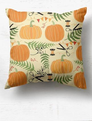 Fall Pattern Pillows