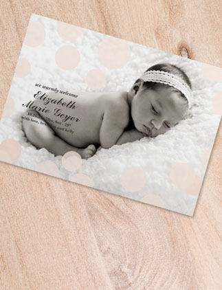 Browse the Baby Announcement Postcards Collection and personalize by color, design, or style.