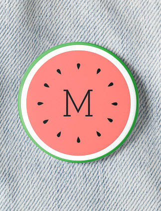 Personalise Buttons at Zazzle