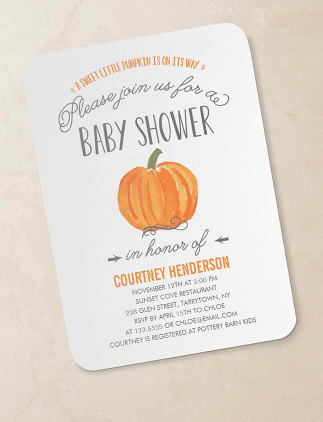 Fall Baby Showers