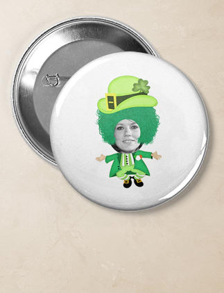 Badges pour la Saint-Patrick sur Zazzle