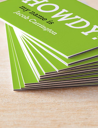 Shop Colourful Business cards
