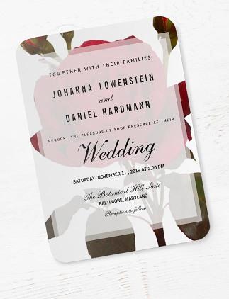 Create a Botanical Wedding Invitation!
