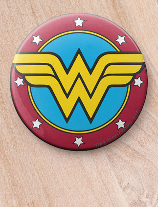 DC Comics Buttons