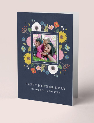 Botanical Mother's Day Greeting Cards