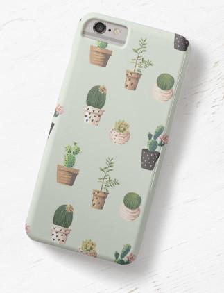 Cactus Pattern Cases