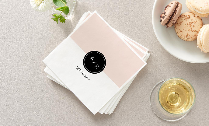 Weddings - Make your wedding extra special with customizable paper napkins!