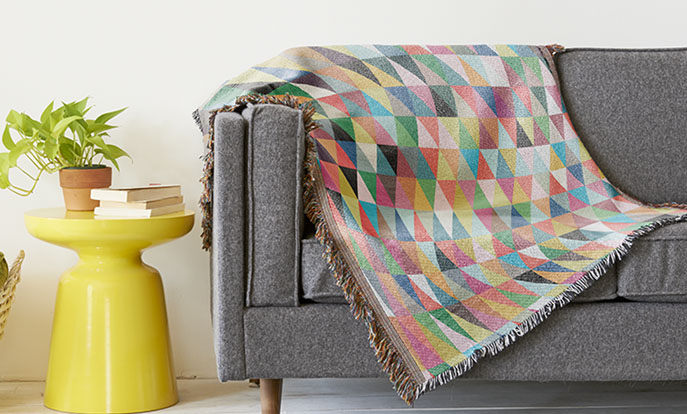Get Toasty with Custom Throws