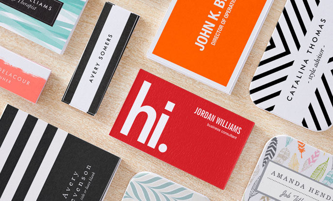 Design Custom Business Cards with Blank Templates