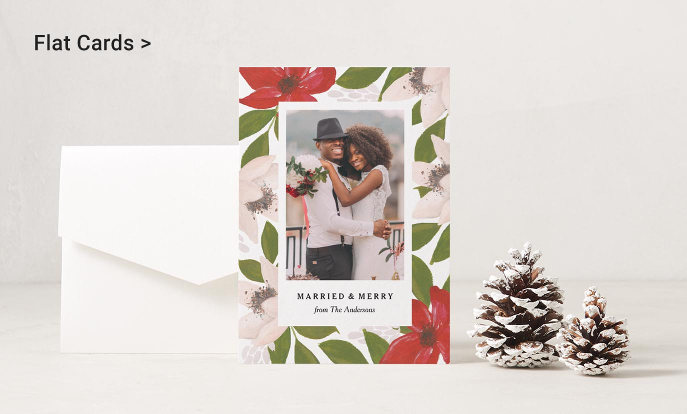 Shop Flat Cards and Invitations