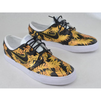 Black & Gold Tropical Floral Nike SB Zoom