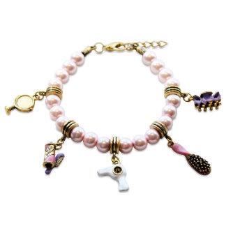 Bracelet de charme d'esthéticien