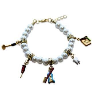 Bracelet de charme d'assistant dentaire