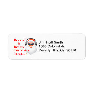 Cool christmas labels address return address labels for Cool return address labels