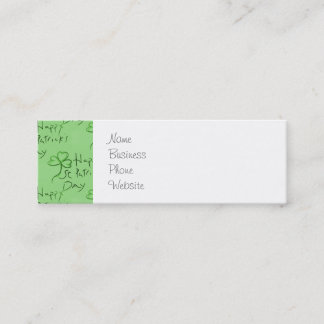 Handwritten business cards and business card templates for Handwritten business cards