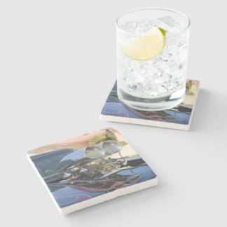 Car beverage coasters car cork coasters - Stone coasters for drinks ...