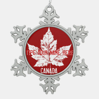 Canadian Maple Leaf Ornaments | Zazzle.ca