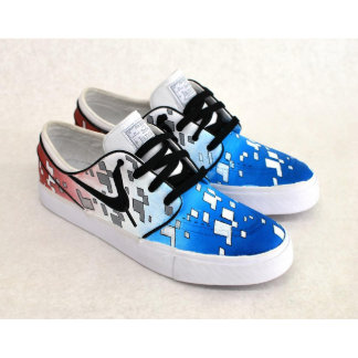 America - Red, White, and Blue Stefan Janoskis