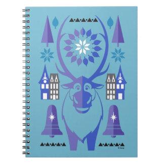 Sven | Sparkling Celebration Spiral Notebook