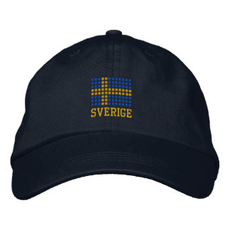 Sverige hatt & keps - Swedish flag hat