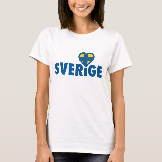 Sverige with love T-Shirt