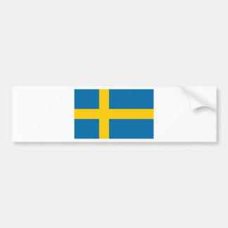 Sveriges Flagga - Flag of Sweden - Swedish Flag Bumper Sticker