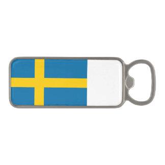 Sveriges Flagga - Flag of Sweden - Swedish Flag Magnetic Bottle Opener