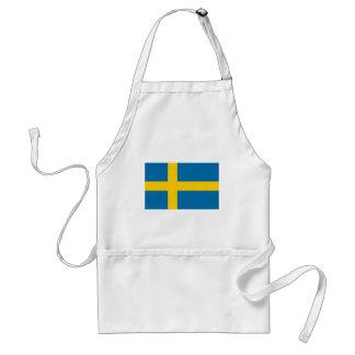 Sveriges Flagga - Flag of Sweden - Swedish Flag Standard Apron
