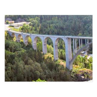 Svinesund old bridge postcard