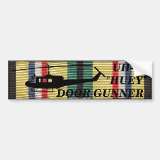 SWA 24th Inf. Div. Huey Door Gunner Sticker Bumper Sticker