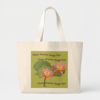 SWAAJ NMRK Two Lotus Jumbo Tote