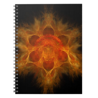 Swadhisthana Second Chakra - One's Own Abode Notebook