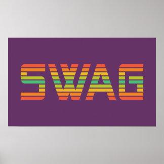 SWAG custom poster